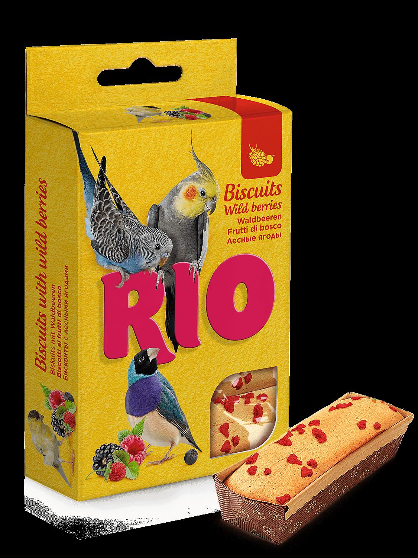 RIO Бисквиты для всех видов птиц с лесными ягодами (5шт*7гр)